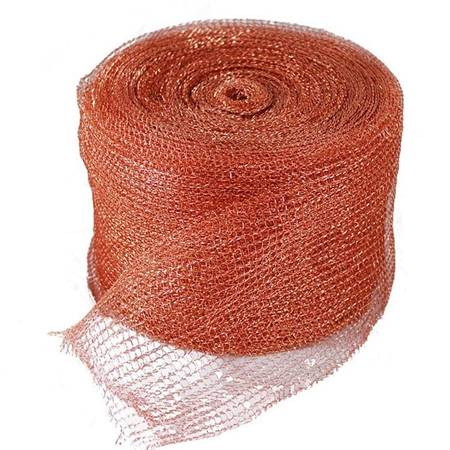 Copper and Tinned Copper Knitted Mesh